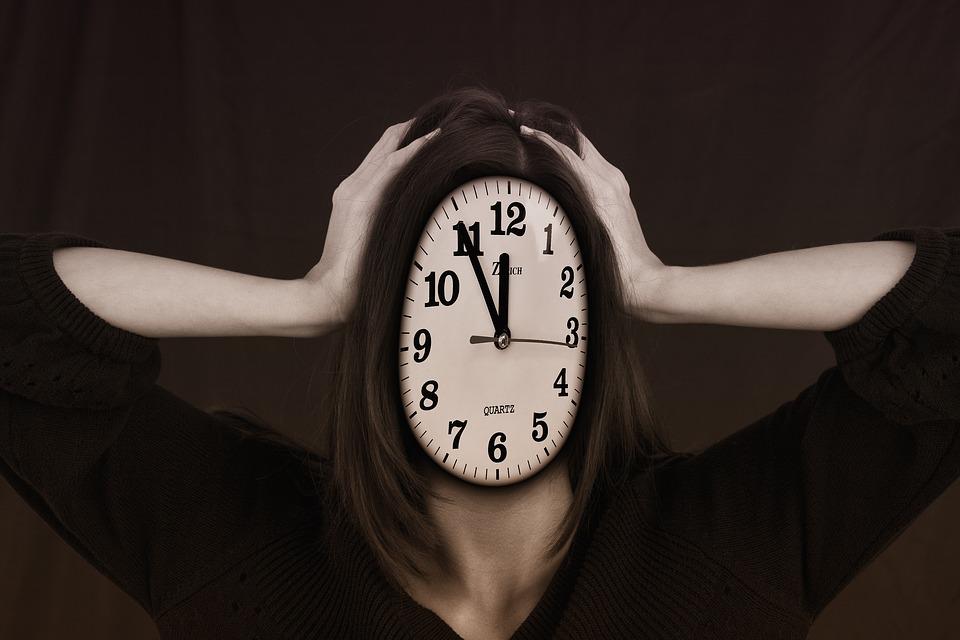 Clock Time Management Burnout Remote Work